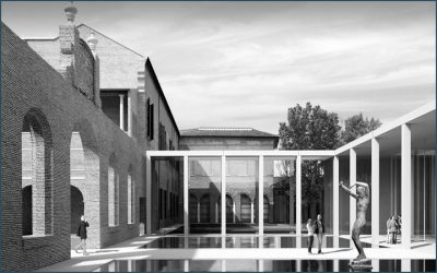 "Extension of the Modern & Contemporary art Gallery in the ""Diamanti Palace"""