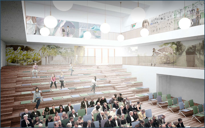 University of Udine (Italy): new Library construction