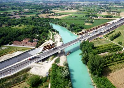 3rd lane of A4 motorway between Quarto D'Altino and San Donà di Piave