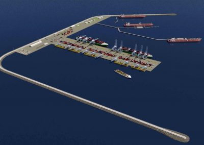 New Off-Shore-Multimodal Terminal in Venice