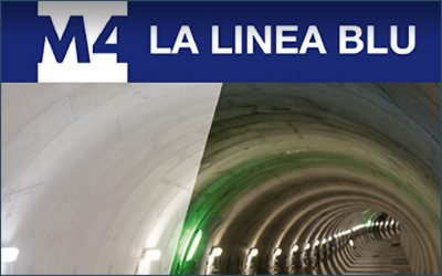 M4#lablu, the new Milan metro line, Italy