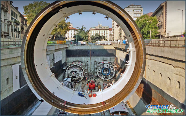 TBMs move ahead fast on Milan Subway