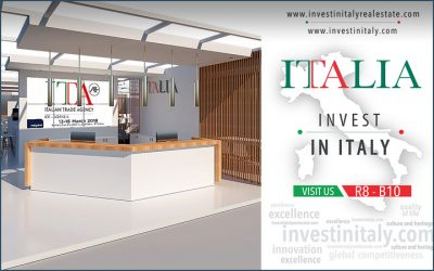 """Italian Pavilion"" at MIPIM 2018 designed by 3TI"
