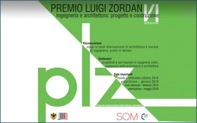 Luigi Zordan award 2019, 3TI PROGETTI is the Official Sponsor