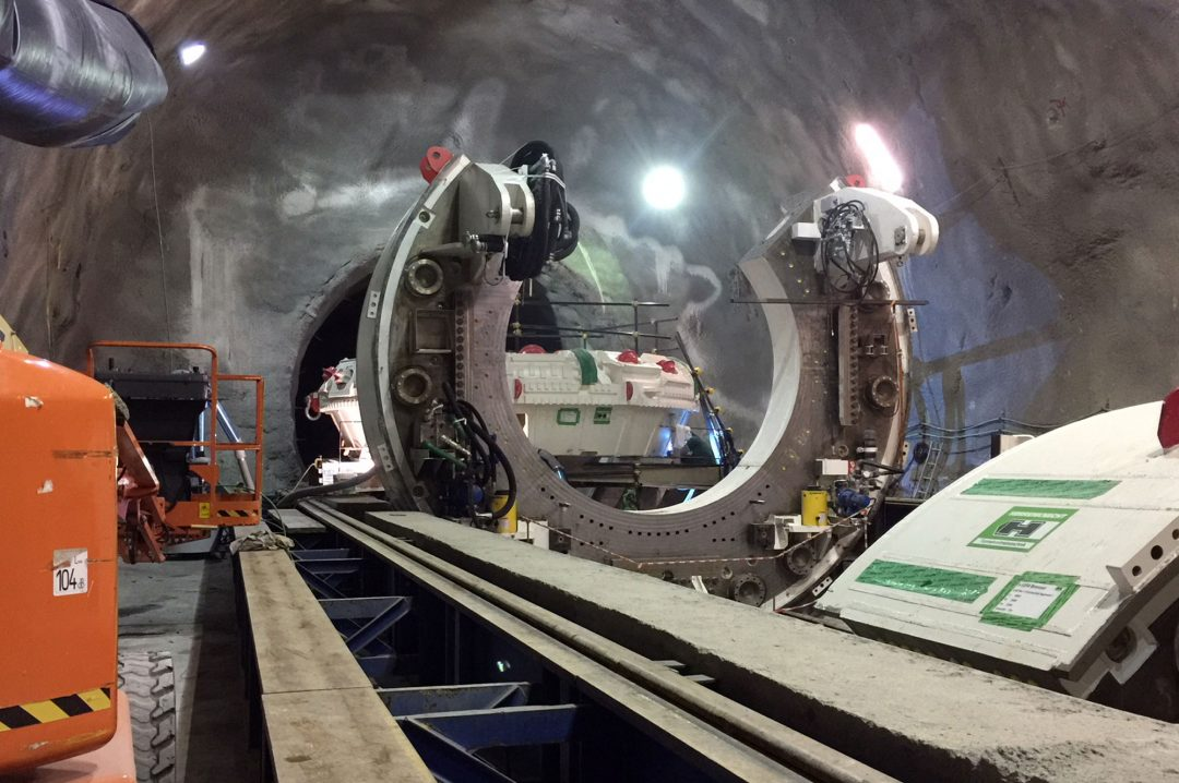Brenner Basis Tunnel  Construction Lot (Mules 2-3)