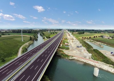 New motorway link Brescia and Milan