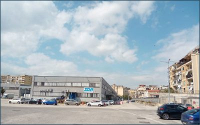 3TI for the reorganization of the mechanized Post Office  in Naples