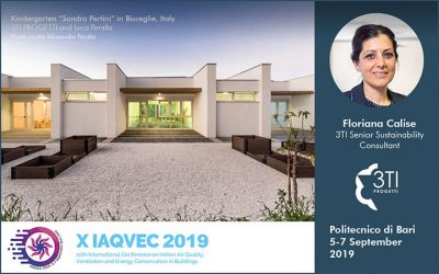 IAQVEC 2019. 3TI and the Bisceglie School @ Politecnico di Bari
