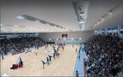 Italian basketball champions inaugurate the New Oristano Sports Hall