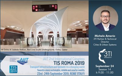 3TI @ TIS Roma 2019 with Doha metro project