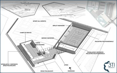 A new Municipal Sports Center for Turbigo (Italy)