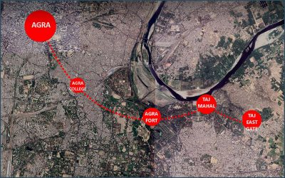 Agra Metro Project: the second large challenge in India for 3TI