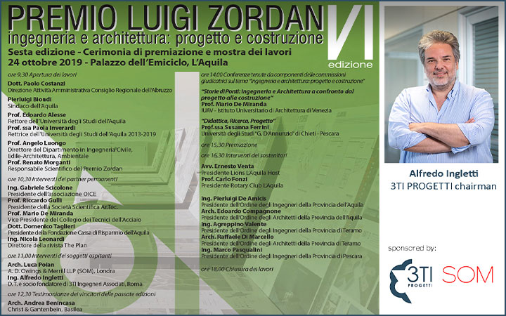 Luigi Zordan Award ceremony and works exhibition
