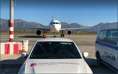 3TI flies in Albania: Tirana International Airport