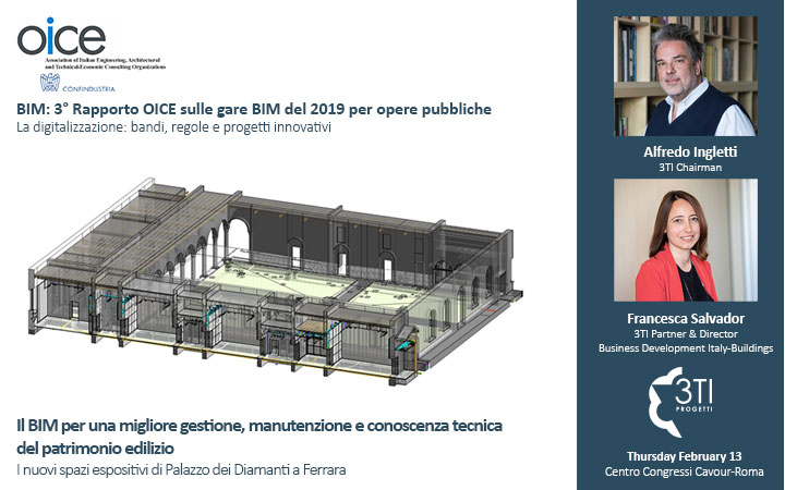 "3TI @ the 3rd ""BIM Tenders Report 2019"" @oice"