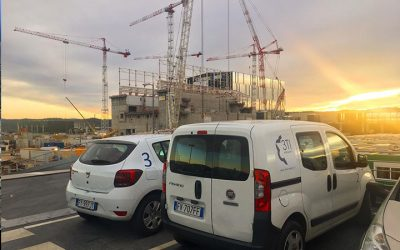 Celebration of TF#9 and TF#12 arrival on ITER site